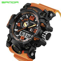 682a36db2e9 Military Sport Watch Men Top Brand Luxury Famous Electronic LED Digital  Wrist Watches For Men Male Clock