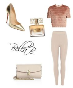 """""""Perfect drinks outfit"""" by banbangotit on Polyvore featuring Raey, adidas Originals, Dolce&Gabbana, Christian Louboutin and Givenchy"""