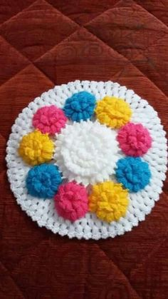 This Pin was discovered by küb Baby Blanket Crochet, Crochet Baby, Crochet Flowers, Diy And Crafts, Presents, Knitting, Creative, Star, Ponchos