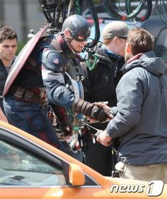 The Avengers Captain America Chris Evans The Avengers 2 age of ultron