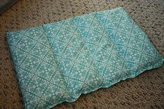 Frugal by Choice, Cheap by Necessity: Another fast last-minute holiday gift  Heating pads to nuke or freeze for aches & pains.