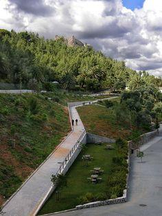 Landscape And Urbanism, Landscape Design Plans, Park Landscape, Landscape Architecture Design, Urban Landscape, Parque Linear, Linear Park, Public Space Design, Mountain Park