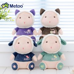 Metoo 20cm Plush Stuffed Baby Kids Toys For Girls Birthday Christmas Gift Kawaii Bonecas Mini Metoo Doll Hot Toys For Children #Affiliate