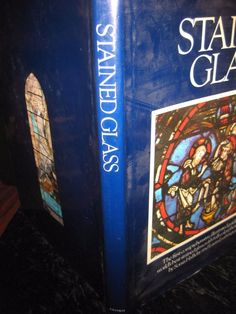 Stained Glass huge illustrated  world's best stained glass (1984, Hardcover)