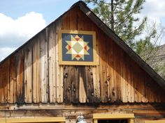 Barn quilt from CA