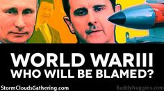 I AM Buddy, The BUDDHA From Mississippi ™: World War III - Who Will Be Blamed?