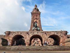 Kaiser Wilhelm Nationaldenkmal (Memorial) Kyffhauser~ Thuringia, Germany by Gerda Schmid