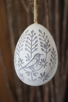 Beautiful spring egg