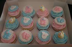 O Sapo e a Princesa: Ideias de Cupcakes para Chá de Bebê