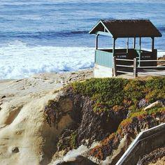 La Jolla, one of many amazing beaches in California. Photo courtesy of amywirtala on Instagram.