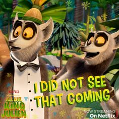 """Is that Magic Steve or King Julien?? Find out how to tell these two handsome lemurs apart in the """"Body Double"""" episode on Netflix."""