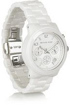 Michael Kors Sport ceramic chronograph watch NET-A-PORTER.COM
