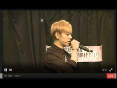 [MYBBCH] 150628 대현 생일 유스트림방송2 #HAPPYBIRTHDAE