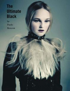 Jean Campbell by Paolo Roversi for Vogue Italia March 2014 2