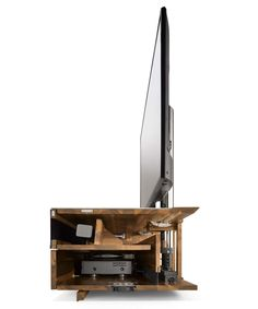 Home entertainment furniture cubus pure with a cut open body Home Entertainment Furniture, Built In Entertainment Center, Tv Furniture, Furniture Making, Furniture Design, Office Built Ins, Pc Table, Rack Tv, Tv Stand With Storage