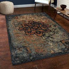 Carolina Weavers 7x9 - 10x14 Rugs Sale Ends Soon : Use large area rugs to bring a new mood to an old room or to plan your decor around a rug you love. Free Shipping on orders over $45!