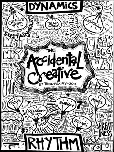 The Accidental Creative by Melinda Walker @OneSquigglyLine - Sketchnote Army - A Showcase of Sketchnotes