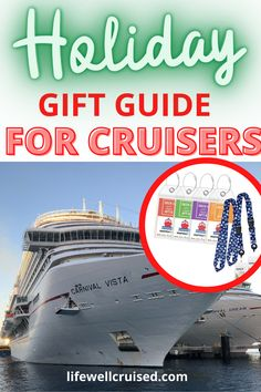 The ultimate holiday gift guide for cruise travelers! From cruise essentials to fun gift ideas to fuel your wanderlust, even when you can't travel. 50 amazing travel gadgets and cruise must-haves, including cruise t-shirts, masks, home decor and nautical jewelry #cruise #giftlist #holidaygiftguide #travelitems #cruising Cruise Packing Tips, Cruise Travel, Cruise Vacation, Cruise Ship Reviews, Best Cruise Ships, Travel Items, Travel Gadgets, Holiday Gift Guide, Holiday Gifts