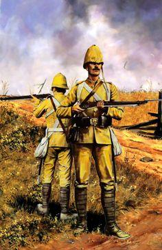 British infantry, Anglo-Boer War