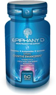 Epiphany D1: Focus, Thinking, Brain supplement