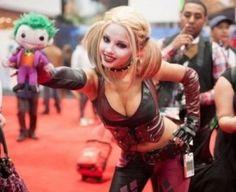 Harley Quinn - Arkham City costume