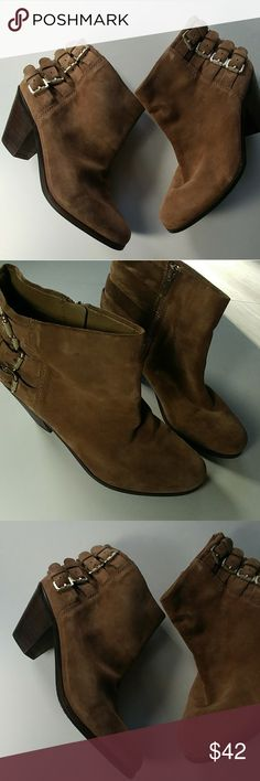 41cea4e75989 Spotted while shopping on Poshmark  Sam Edelman tan suede booties size 41!   poshmark