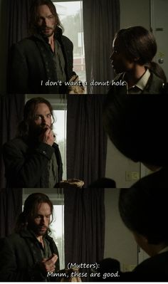 Sleepy Hollow :D Ichabod Crane haha this show is everything I hoped it would be
