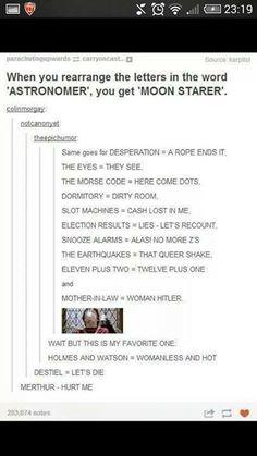 Holmes and Watson - womanless and hot hahahahaha