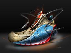 Footwear Sketch for Nike