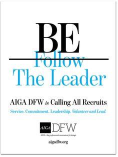 AIGA DFW Sampling Event Planning & Management, Design + Copy - Frances Yllana francesyllana.com