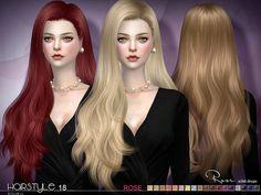 S-Club's sclub ts4 hair Rose n18