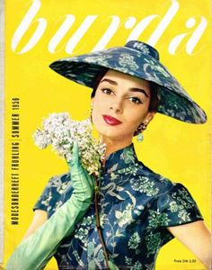 Burda Moden International Frühling/Sommer 1956 mit Schnittmuster 138 Seiten | eBay