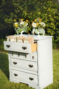 Dresser Used For Wedding Display