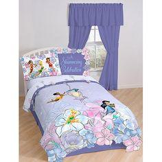 Disney Fairies Tink Garden Bedding Comforter