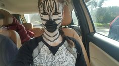 Zebra makeup 🖌🎨