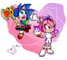 Maria The Hedgehog, Sonic The Hedgehog, Maria Rose, Sonic Funny, Sonic And Amy, Creature Concept Art, Minions, Creatures, Animation