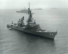 USS Waddell, DDG 24, 1987