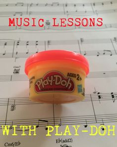 Ever thought of using Play - Doh in your music lessons? Well let me tell you, it works wonders! Using play-doh will give you a true hands on experience of learning notes and rhythms. I believe  this is a great way to help students! Instead of just having students repeat over and over again what notes are or what certain rhythms or symbols are have them use their hands and create it with play-doh!       Have students Create music rhythms: Treble Clef Bass Clef Repeat Sign Coda Double B...