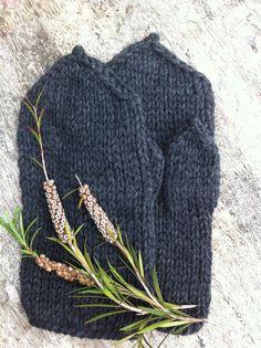 Hands warmers men mittens wool mittens chunky by MotiejusyYarns