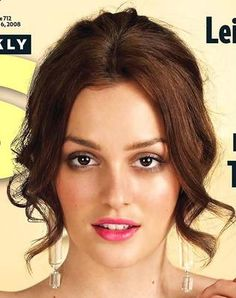 Celebrity Hair: Leighton Meester | Haircuts and Hairstyles for Everyone!