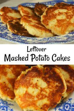 Mashed Potato Cakes Leftover, Leftover Mashed Potatoes, German Potato Pancakes, Mashed Potato Pancakes, Fruit Crisp Recipe, Apple Crisp Recipes, Stewed Potatoes, Potato Side Dishes, Sweet Potato Casserole