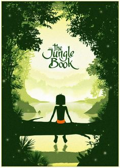 Mowgli - Jungle book minimalist poster