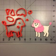 Poodle 100 Cookie Cutter Set