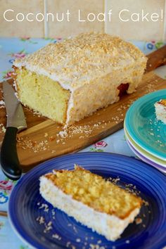 Coconut Cake - A Simple yet Elegant Sponge Cake, full to the brim with the delicious Coconut Flavour – perfect for Afternoon Tea, or a Scrumptious Treat! Coconut Sponge Cake, Coconut Loaf Cake, Coconut Brownies, Mini Cakes, Cupcake Cakes, Poke Cakes, Bundt Cakes, Layer Cakes, Cupcakes