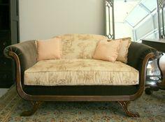 repurposed settee.