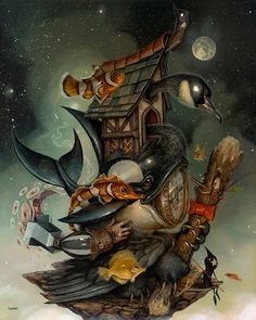"""Greg Craola Simkins, """"beinArt Surreal Art Show"""" Returns to Copro Gallery in 2016 
