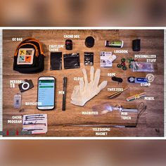 What's in your Geocaching Kit? #IBGCp