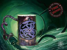Steampunk beer tankard iron mug stein gift geek cosplay collector steampunkgift