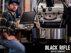 Black Rifle Coffee Company - CEO Evan Hafer working on a Speciality Roast just for you! #BlackRifleCoffee #AmericasCoffee Black Rifle Coffee Company, Good Company, Coffee Maker, Coffee Products, Hot Chocolate, Roast, Life, Space, Coffee Maker Machine