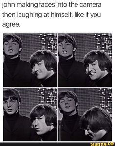 Read Making Faces from the story Jokes and Memes Only A Beatles Fan Would Get Book 2 by adayinthelifeofjohn with 34 rea. Beatles Meme, Beatles Quotes, Beatles Band, Les Beatles, Beatles Guitar, The Quarrymen, Funny Memes, Jokes, Making Faces